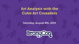 Art Analysis with the Cutie Art Crusaders