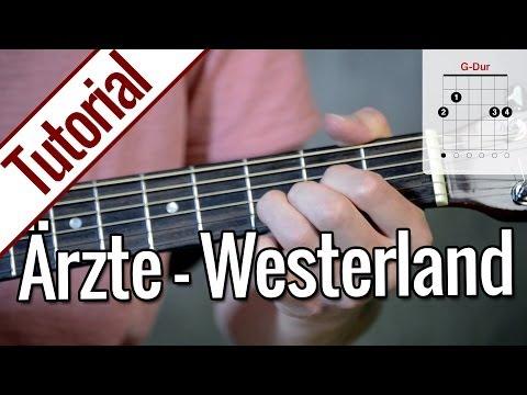 Die Ärzte - Westerland | Gitarren Tutorial Deutsch