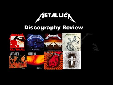 Studio 41 Music: Jeff Reviews the Metallica Discography