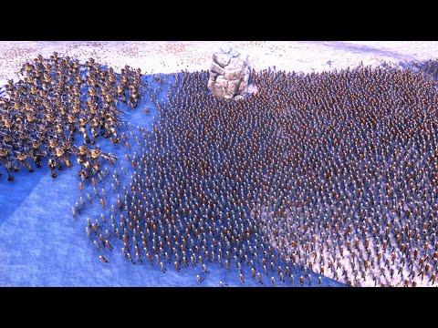 Зомби, скелеты vs огры, джедаи! Ultimate Epic Battle Simulator! Битва армий! Эпик Батл Симулятор!