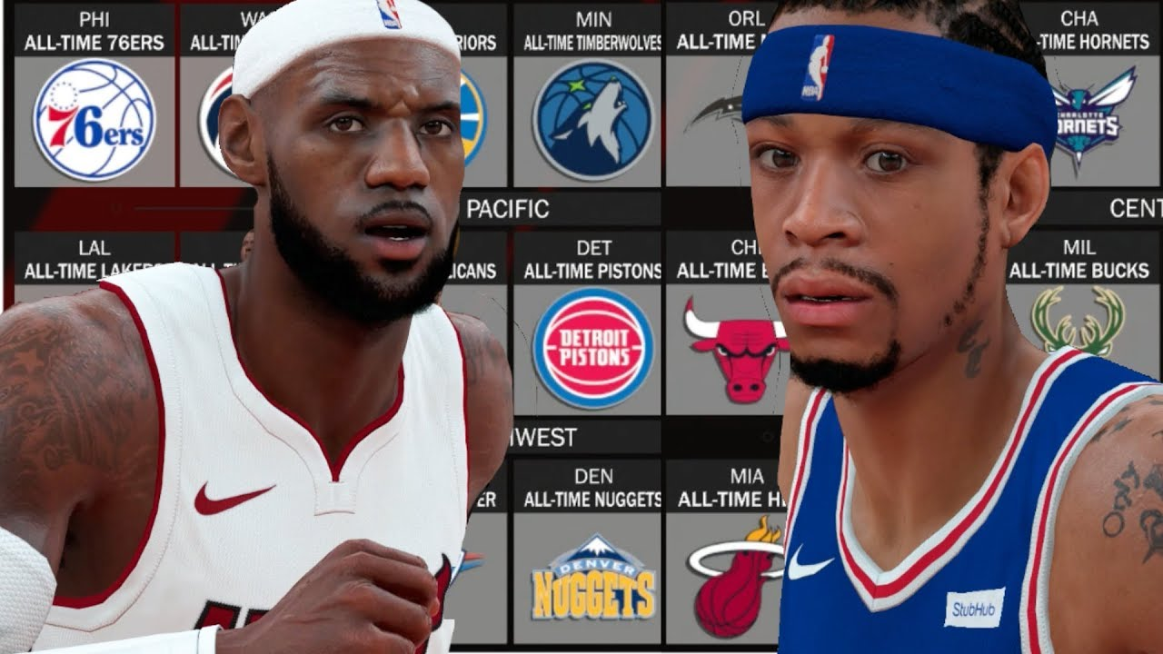 What If All The All Time Teams Played A Season Against Eachother  NBA 2K18  Challenge 90b6bf9c4