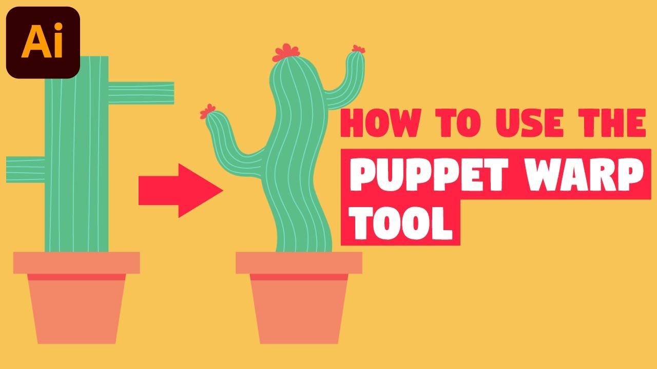 ArtStation - Puppet Warp Tool | Illustrator CC Tutorial