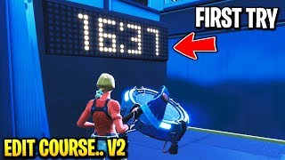 I tried Raider464 Impossible edit course... (FIRST TRY) - Fortnite