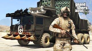 GTA 5 Zombie Apocalypse Mod #22 - ULTIMATE ZOMBIE TRUCK!! (GTA 5 Mods)