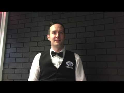 Interview with Martin O'Donnell after his victory over Rory Mcleod | European Masters Qualifiers