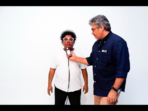 Ajith does photoshoot for Appu Kutty | Movie Making