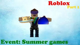 HOW TO GET A FREE HAT AND GEAR IN ROBLOX!!!| Roblox Summer Games