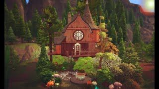 The Sims 4 - Witches Treehouse (House Build)