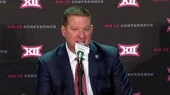 Texas Tech Coach Chris Beard | 2019 Men's Basketball Tipoff | Press Conference