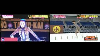 Алина Загитова vs. Женя Медведева. Баттл на на полосе припятствий (Шоу Япония).