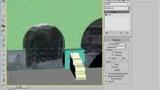 Making of CKS gate in 3ds max 7 video 1 of 3