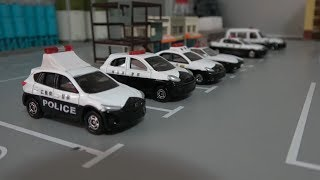 Tomica Police Car Drive Toys Play 토미카 경찰차 장난감 운전놀이