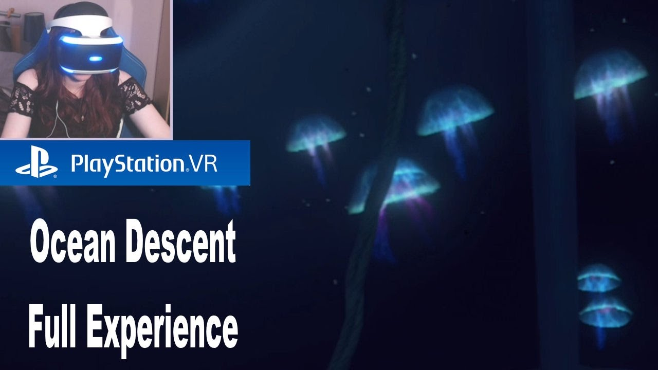 ocean descent playstation vr worlds full game experience playthrough
