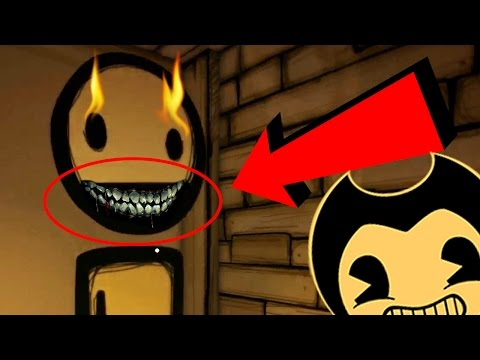 TOP 10 SECRETS You Missed in BENDY And The Ink Machine Chapter 1 and 2