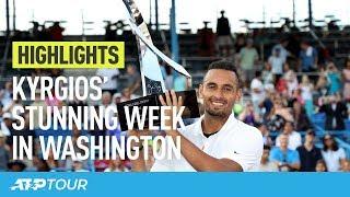Kyrgios' Wonderful Washington Week   HIGHLIGHTS   ATP