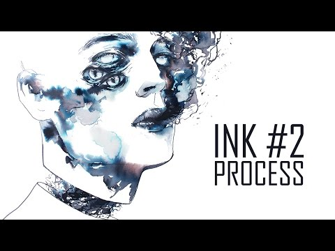 Ink Painting Process