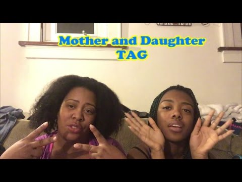 Mother Daughter Tag From The Best Mom Daughter Duo On The Tube