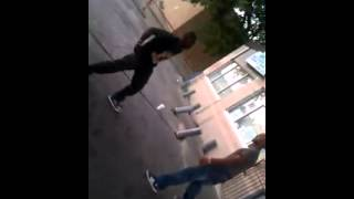 Best Hood Fight!! Young Artist Christian Jade KOs 30 year old spit boxer