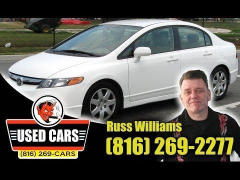 2010 Honda Civic LX Kansas City St. Joseph MO KS Used Cars RUSS WILLIAMS Approved Auto KC