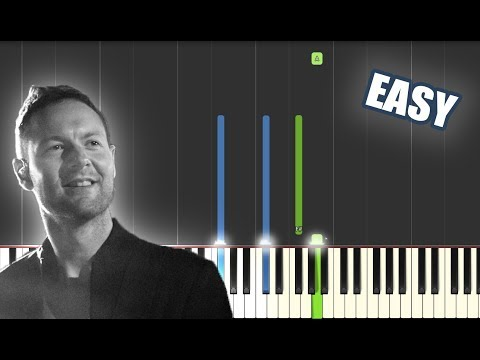 Mighty to Save - Hillsong Worship | EASY PIANO TUTORIAL by Betacustic