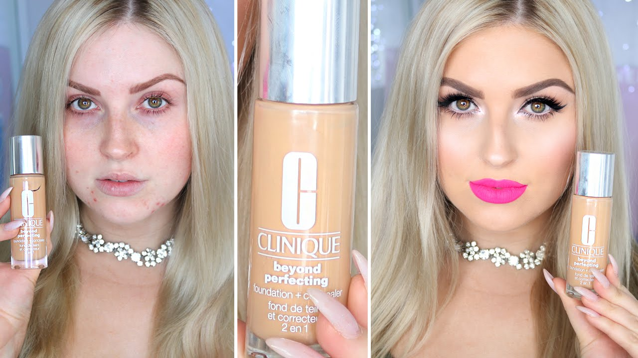 Clinique Beyond Perfecting Foundation Concealer First