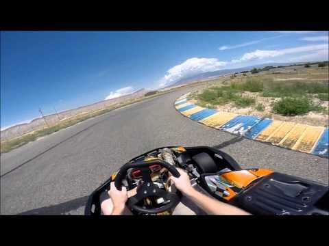 Shifter Kart Racing at Grand Junction Motor-speedway - 13HP Honda