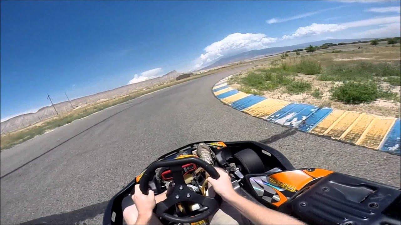 Shifter kart racing at grand junction motor speedway for Grand junction honda