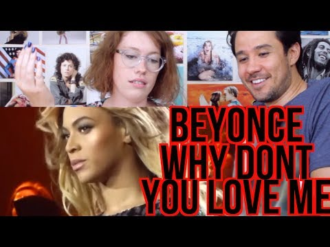 BEYONCE - Why Don't You Love Me - REACTION! - Mrs. Carter Tour