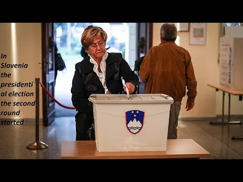 In Slovenia, the presidential election, the second round started