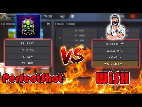 FreeFire 💥WISH VS PerfectShot💥 ทีมแสนดี vs ทีมแข่งใหม่พี่เอ็ก🔥