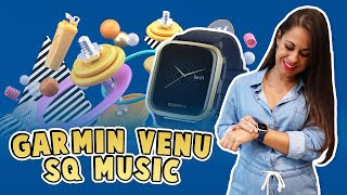 Reloj Garmin Venu SQ Music - Review y Unboxing en español