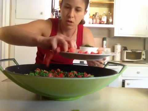 Raw Vegan PAELLA Recipe