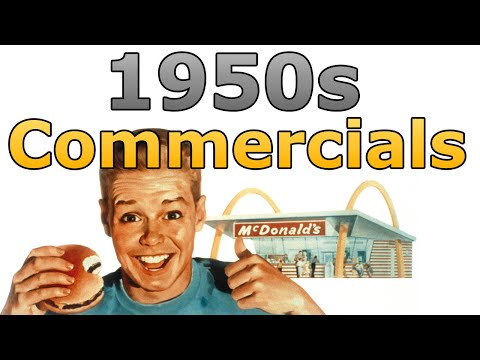 1950s Commercials and Vintage Commercials