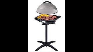 George Foreman Indoor Outdoor Electric Grill...setup, review, test, etc.