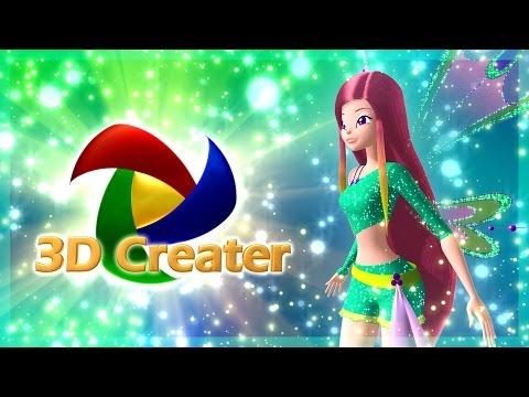New Winx 3D Roxys Transformation! [HD]