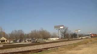 BNSF W/B manifest train.