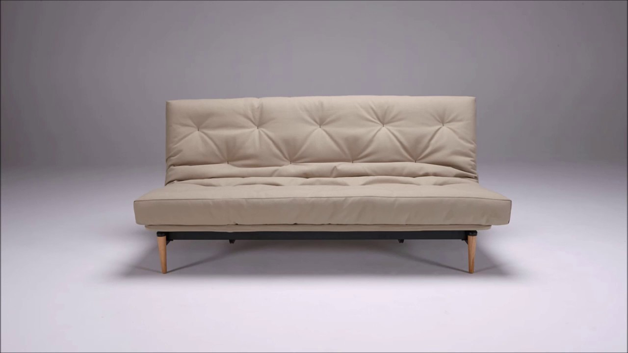 Forskellige Colpus Futon Sofa Bed by Innovation - YouTube GU17