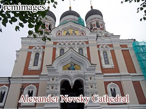 Alexander Nevsky Cathedral (1894): Russian Orthodox—Tallinn, Estonia