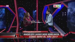 Ángeles Lasso anticipa un 2017 con características bélicas thumbnail