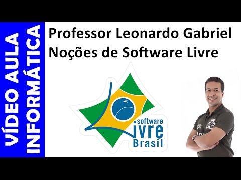 Vídeo aula grátis - Informática para Concursos - Noções de Software Livre