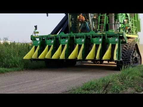 Cotton Picker Rubber Tracks Mounting System - Preferred Equipment Co. Inc.