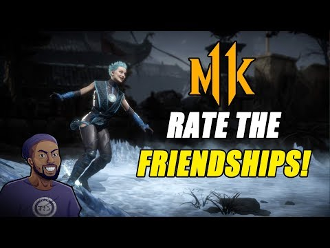 BLAXIMILIAN RETURNS! | MORTAL KOMBAT 11 AFTERMATH | RATE THE FRIENDSHIPS