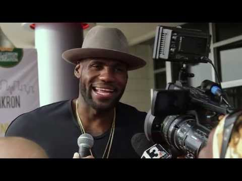Trainwreck: Lebron James Akron Red Carpet Premiere Interview