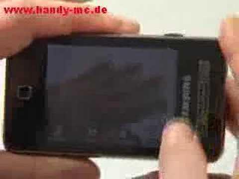 Samsung SGH F480 Kamera