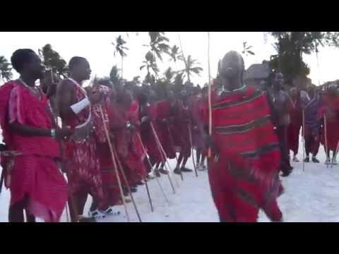 Danza Maasai Kiwengwa Zanzibar 28/11/14