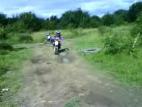 Luke on his motorbike