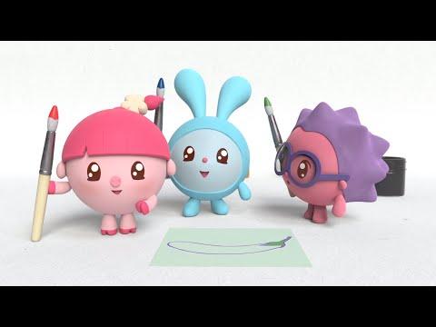 Малышарики Новые серии - Труба (38 серия) Мультики для самых маленьких