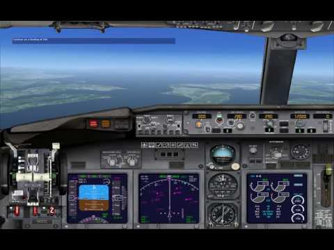 FSX LEARNING CENTER Airline Transport Pilot Lesson 1: Boeing 737 Checkout (autopilot) ジェット機の飛行