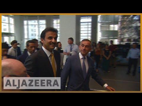 🇶🇦 🇬🇧 Qatari emir visits London to rally international support | Al Jazeera English
