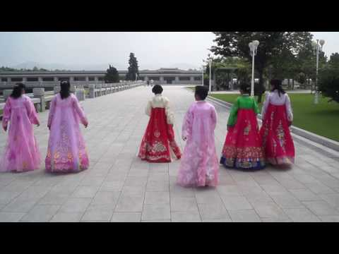 At the Kumsusan Palace of the Sun in Pyongyang, North Korea (DPRK)